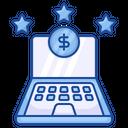 Online Marketing Online Banking Finance Icon