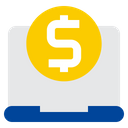 Online Pay Online Payment Investment Icon