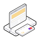 Online Payment Ecommerce Safe Shopping Icon