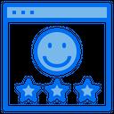Web Customer Rating Icon