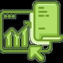 Statistics Chart Analytics Icon