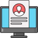 Online Resume Icon