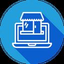 Online Retail Shop Icon