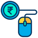 Online Rupees Icon