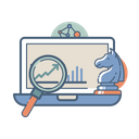 Online Selling Strategy Icon