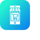Online Shop Store Icon