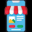 Online Shopping Marketplace Shopping Icon