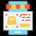 Market Counter Shopping Icon