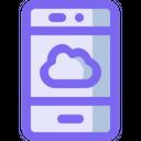 Online Storage Management Icon