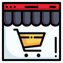 Shop Commerce And Shopping Online Store Icon
