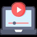 Online Streaming Online Video Streaming Online Video Icon
