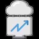 Online Success Graph Icon