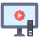 Online Video Streaming Video Streaming Television Icon