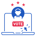 Online Election Us Icon