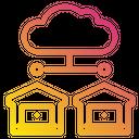 Home Laptop Cloud Icon