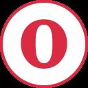 Opera Social Logos Icon