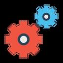Optimization Gear Marketing Icon