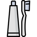 Oral Care Dental Care Toothbrush Icon