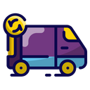 Order Process Package Shipping Icon
