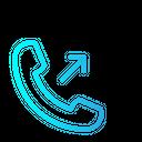 Outcoming Call Outcoming Phone Icon