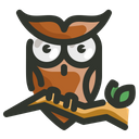 Owl Spooky Halloween Icon