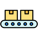Package Conveyer Icon