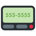 Pager Message Communication Icon