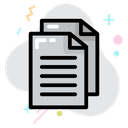 Pages Report File Icon