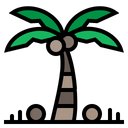 Palm Tree Summer Icon