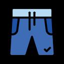 Pants Half Shorts Icon