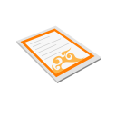 Paper Contract Deal Icon