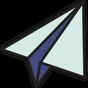 Paper Plane Plane Business Icon