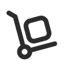 Package Cart Transport Icon