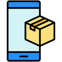 Parcel Tracking Mobile Tracking Icon