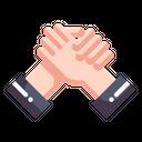 Partner Handshake Agreement Icon