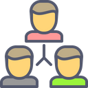 Partners Users Team Icon