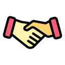 Contract Deal Hand Shake Icon