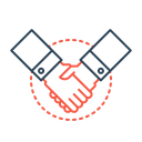 Partnership Collaboration Joint Icon