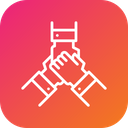 Partnership Deal Handshake Icon