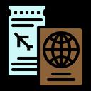 Passport Ticket Id Icon