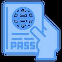 Passport Pass Holidays Icon