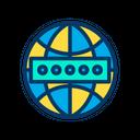 Globe Password Secure Icon