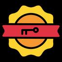 Patent Baddge Security Badge Shield Icon