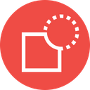 Path Object Difference Icon