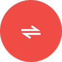 Path Twoway Bidirectional Icon