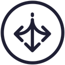 Arrows Sign Direction Icon