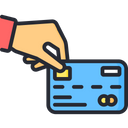 Pay By Card Payment Method Transaction Icon