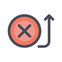 Payment Fail Cancel Icon