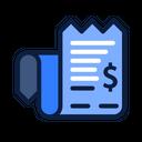 Payment Receipt Money Icon