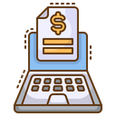 Invoice Payment Bill Icon
